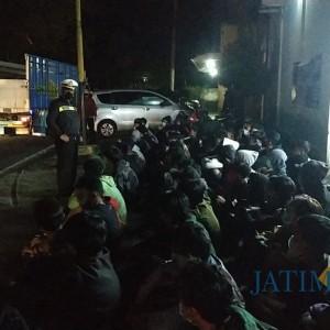 Razia Balap Liar, 150 Pemuda Diamankan Polres Blitar