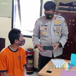 Embat Handphone Pelanggan yang Tertinggal, Pedagang Ikan Ditangkap Polisi