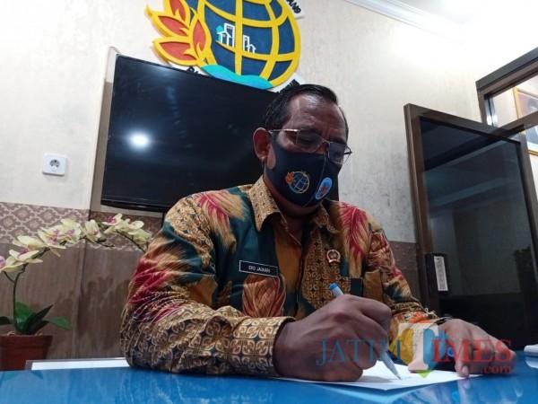 Kepala Kantor BPN Tulungagung, Eko Jauhari (Joko Pramono for Jatim TIMES)
