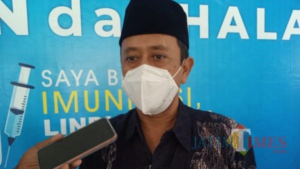 Ketua PCNU Kota Kediri KH. Abdullah Abu Bakar Abdul Jalil atau yang akrab disapa Gus Ab. (Foto: Bams Setioko/JatimTIMES)