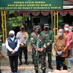 Panglima TNI Instruksikan Bombardir RT yang Masuk Zona Merah Dengan Prokes Ketat