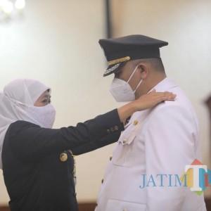 Whisnu Sakti Resmi Dilantik Wali Kota Surabaya