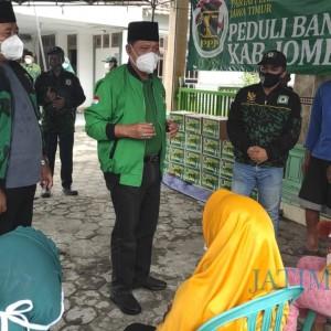 Terima Curhatan Pengungsi Banjir Jombang, DPW PPP Jatim Segera Lakukan Ini