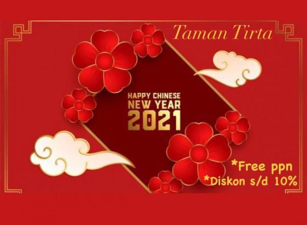 Perayaan Imlek, Taman Tirta ada promo khusus bagi customer, Free PPN dan Diskon 10 persen (Ist)