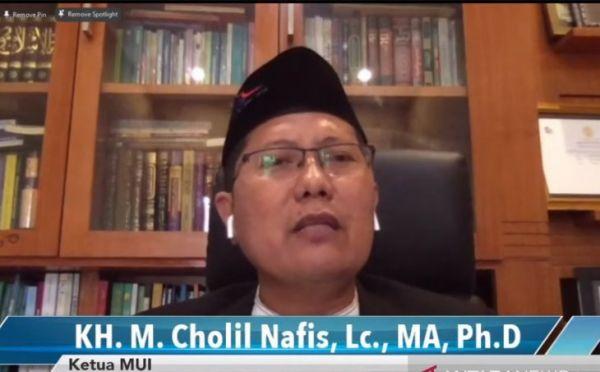 Ketua MUI KH Muhammad Cholil Nafis (Foto: YouTube)