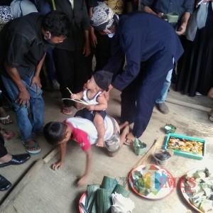 Tradisi Mudun Lemah Warga Osing Banyuwangi Masih Terjaga, Begini Ritualnya