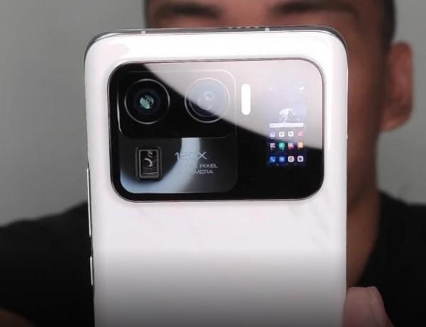 Xiaomi Mi 11 Ultra. (Foto: Gizmochina)