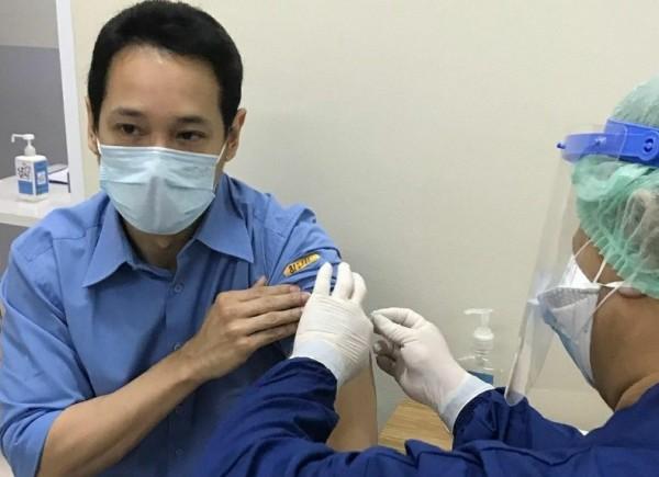 Foto ilustrasi proses vaksinasi