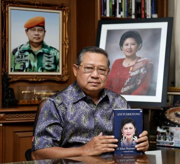 Presiden ke-6 RI Susilo Bambang Yudhoyono (SBY). (Foto: Instagram @aniyudhoyono).