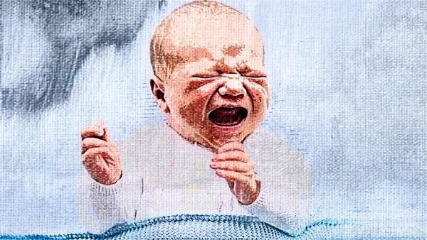 Ilustrasi bagi menangis, (Shutterstock)