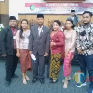 Dilantik Menjadi Anggota Dewan PAW, Made Suwastiko Masuk Komisi I dan Banmus DPRD Banyuwangi