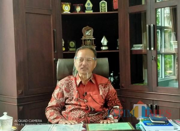Rektor UIN MALIKI Malang, Prof Abdul Haris (Anggara Sudiongko/MalangTIMES)