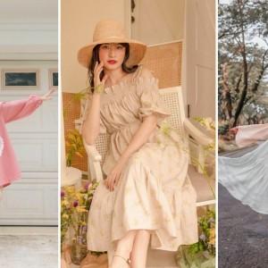 Tampil Manis dan Cute dengan Aneka Vintage Dress, Intip Gaya Vanessa Andrea ini Deh!