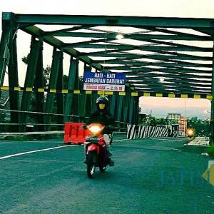 Jembatan Boro Siap Diperbaiki Tahun Ini