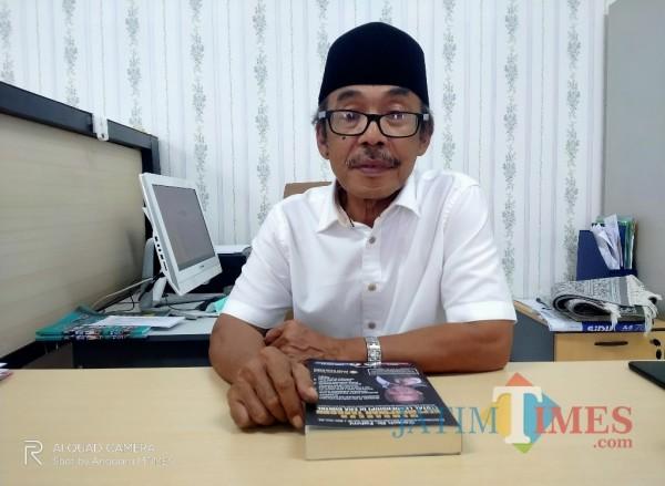 Ketua Senat UIN Maliki Malang,Prof Dr HA Muhtadi Ridwan MAg (Anggara Sudiongko/MalangTIMES)