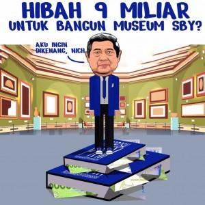 Netizen Ramai Singgung Dana Rp 9 Miliar untuk Museum SBY-Ani di Pacitan