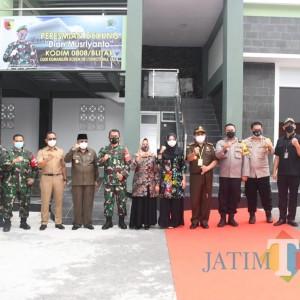 Kenang Sosok Dandim Blitar ke-30, Danrem 081/DSJ Resmikan Gedung Dian Musriyanto
