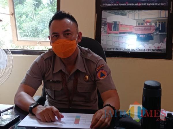 Plt Kabid Kedaruratan dan Logistik BPBD Kabupaten Malang, Sadono Irawan (Hendra Saputra)
