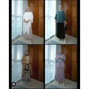Dari Simple hingga Layering, Ini Padu Padan Basic Skirt ala Indah Nada Puspita