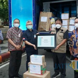 IPEBI Serahkan Bantuan Korban Banjir dan Tanah Longsor di Kabupaten Nganjuk