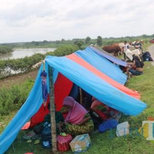 Logistik Menipis, Pengungsi Banjir Jombang Menjerit