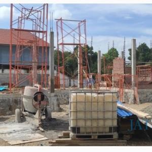 Belum Kantongi IMB, Pembangunan Gudang Bulog di Dander Sudah Berjalan