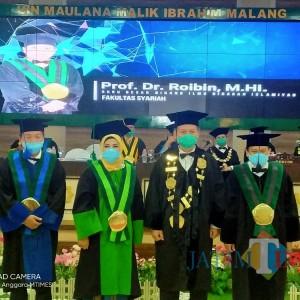 3 Guru Besar Baru dari 3 Fakultas di UIN Malang Dikukuhkan