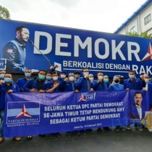 Ketua DPC Demokrat Se-Jatim Ke Jakarta Menyatakan Setia Kepada AHY