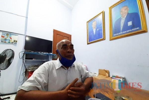 Abdul  Baqi salah satu tim formatur DPD PAN.(eko arif s/Jatimtimes)