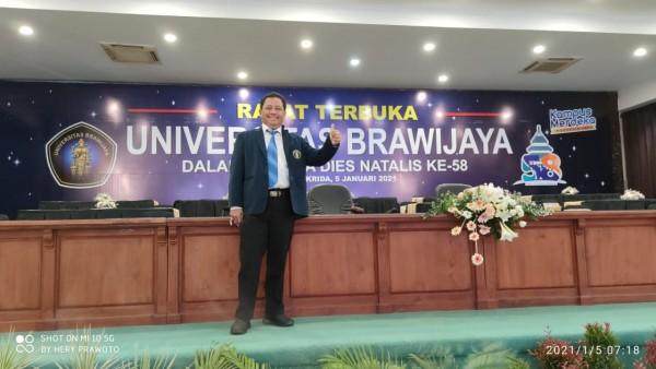 Heri Prawoto, Koordinator Bagian Perencanaan, Akademik dan Kerjasama UB (Ist)