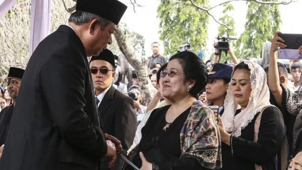 Megawati dan SBY (Foto: CNN Indonesia)