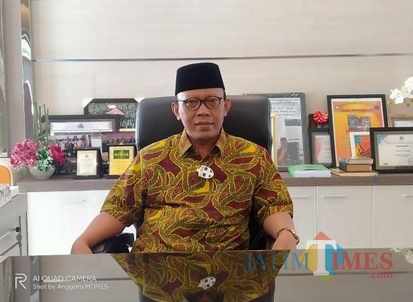 Rektor Unisma, Prof Dr Maskuri MSi (Anggara Sudiongko/MalangTIMES)