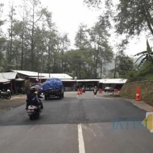 Perbaikan Jalan Retak di Wisata Kuliner Payung Butuh Dana Rp 2,5 Miliar