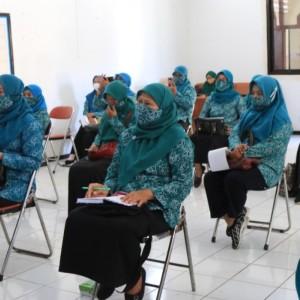 TP-PKK Se- Kota Kediri Ikuti Pelatihan Pita Lila dari UNICEF