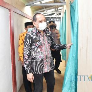 Resmikan Kampung Tangguh, Plh Bupati Trenggalek Minta Partisipasi Masyarakat Tangkal Penyebaran Covid