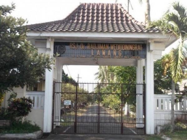 RSJ  dr Radjiman Wediodiningrat Lawang. (Foto: Istimewa)