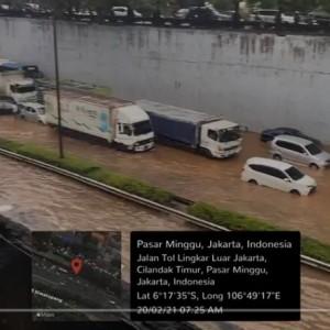 Sempat Dipuji karena Tidak Banjir, Kini Jakarta Banjir Parah, Tol BSD bak Lautan