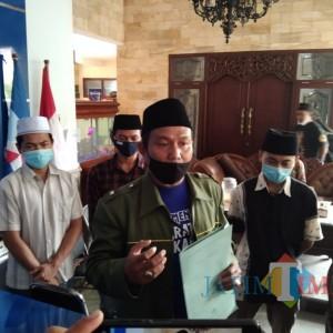 Makam Gusdur Disebut Gunakan Uang Negara, Barikade Gus Dur Datangi Kantor Demokrat Kota Malang