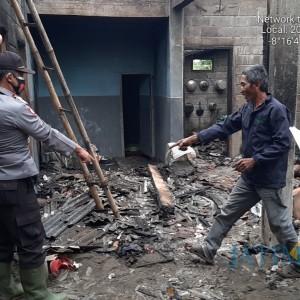 Tikus Picu Kebakaran Rumah Warga Blitar, Kerugian Puluhan Juta