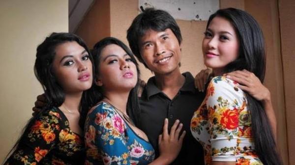 Ilustrasi poligami (foto: istimewa)