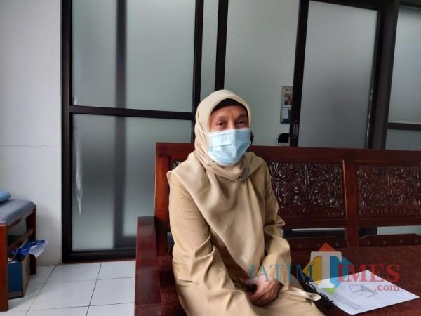 Kepala Dinsos-P3AP2KB Kota Malang Peny Indriani. (Foto: Tubagus Achmad/MalangTIMES)