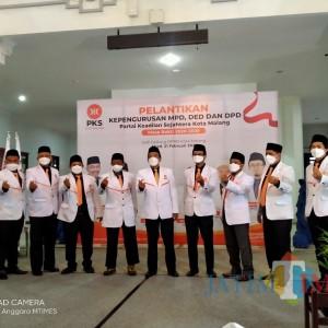 Resmi Dilantik, DPD PKS Kota Malang Optimis Tingkatkan Keterlibatan Milenial Untuk Pembangunan