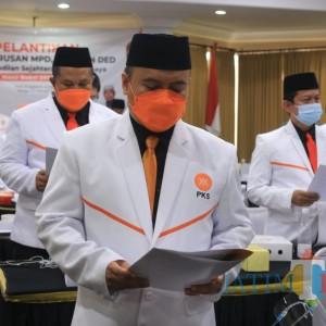 Dilantik, Ketua PKS Surabaya Johari Mustawan Targetkan 15 Persen Suara