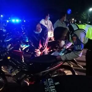 Operasi Patroli Light di Kawasan Rawan Balap Liar, Kepolisian Amankan Belasan Kendaraan
