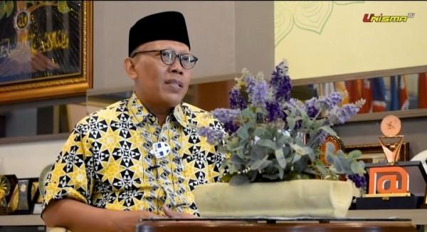 Prof Dr Maskuri MSi, Rektor Unisma (istimewa)