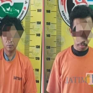 Dua Sahabat Pekerja Serabutan di Tulungagung Ditangkap Polisi karena Jualan Pil Koplo