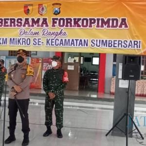 Jelang Pelaksanaan PPKM Mikro, Kapolres Jember Beri Pengarahan Ketua RT-RW