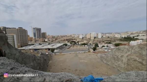 Makam Abu Lahab (Foto: YouTube Alman Mulyana)