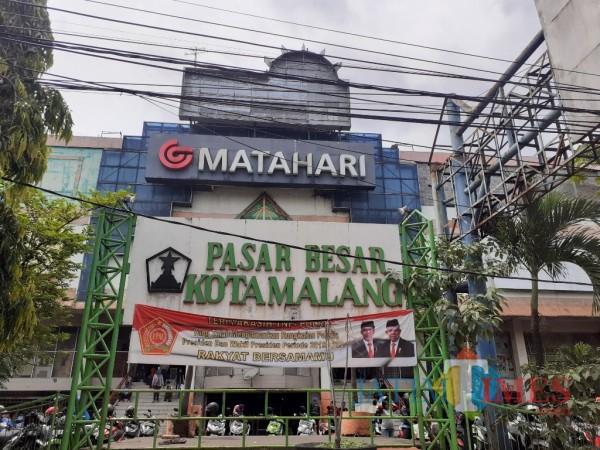 Pasar Besar  Kota Malang. (Arifina Cahyanti Firdausi/MalangTIMES).