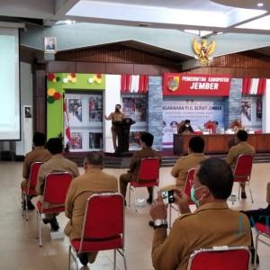 Laksanakan Perintah Gubernur, Plh Bupati Hadi Pulihkan Birokrasi di Jember